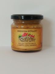 Vegán mustáros csípős lencsekrém Image
